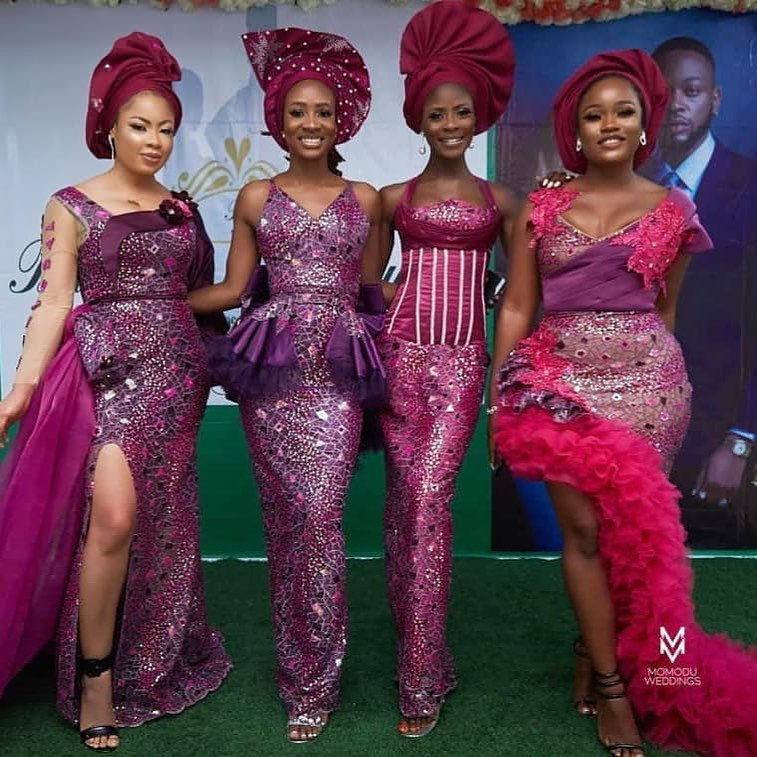 Asoebi ladies