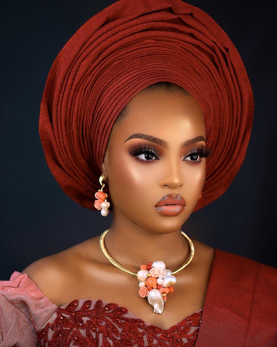 Edens Glam Yoruba Look