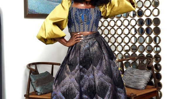 3Sika Osei Started Off 2021 In Two Made In Ghana Outfits That Deserve Your Attention
