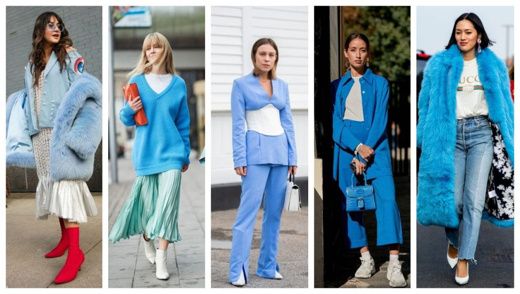 Fustany fashion style ideas what colors match with blue 103