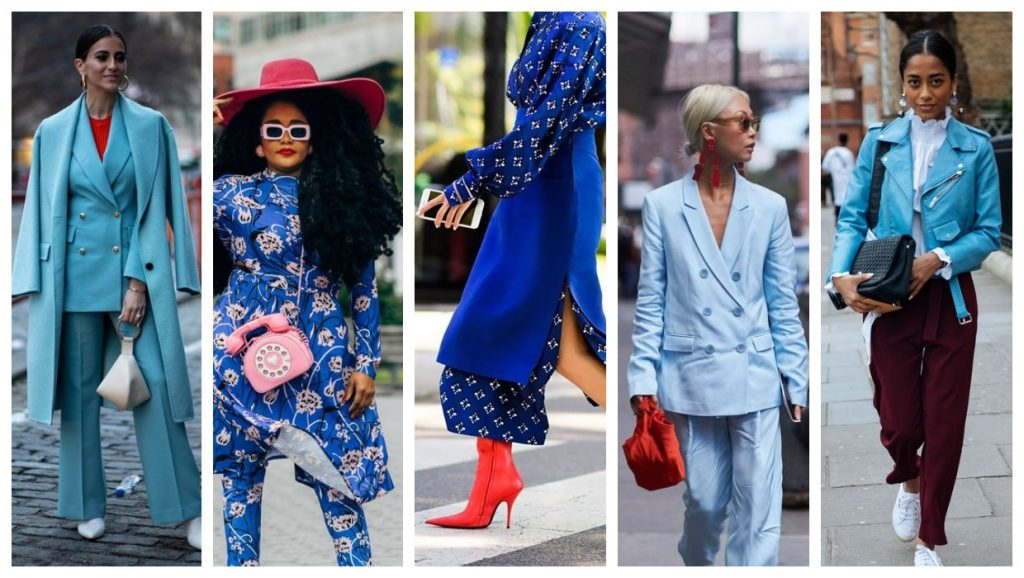 Fustany fashion style ideas what colors match with blue 106