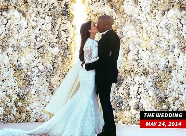 Kim Kardashian & Kanye West's Wedding in Italy May 2014