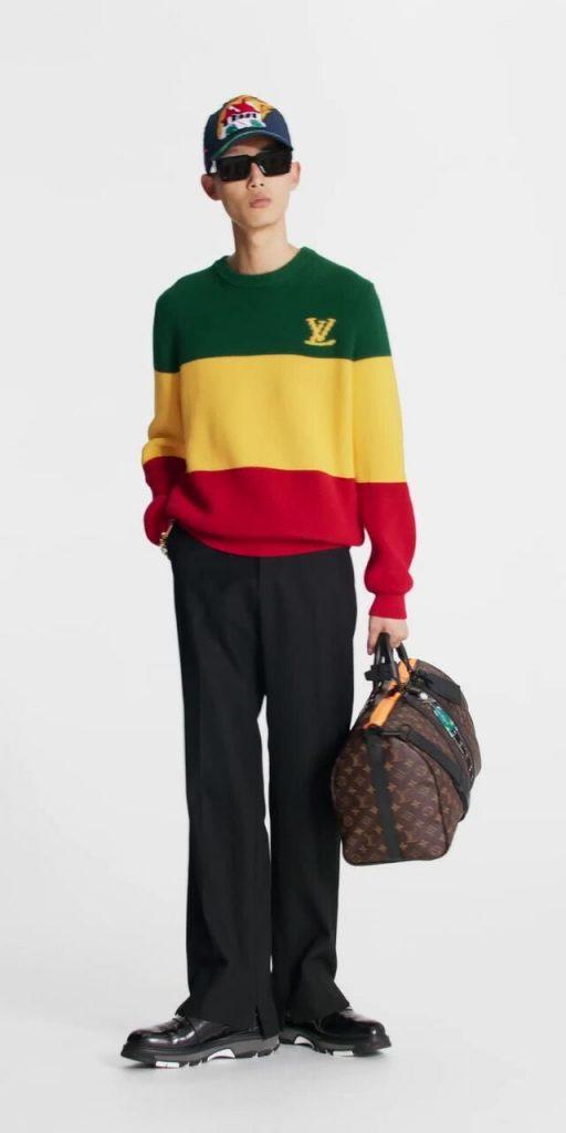 Louis Vuitton Jamaican Stripe Pullover