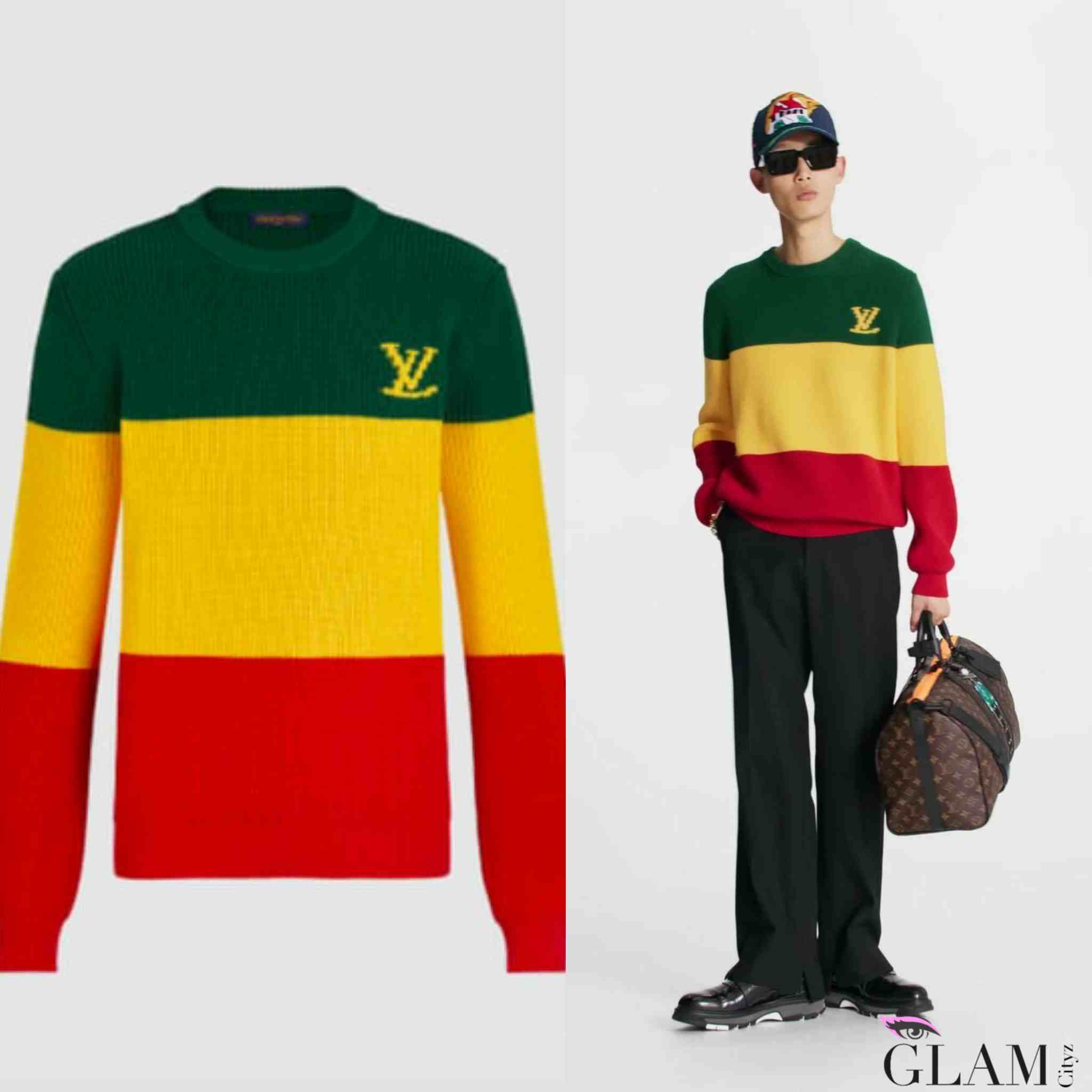 Louis Vuitton Jamaican Sweatshirt