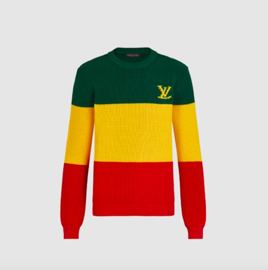louis vuitton jamaican flag sweater wrong colors