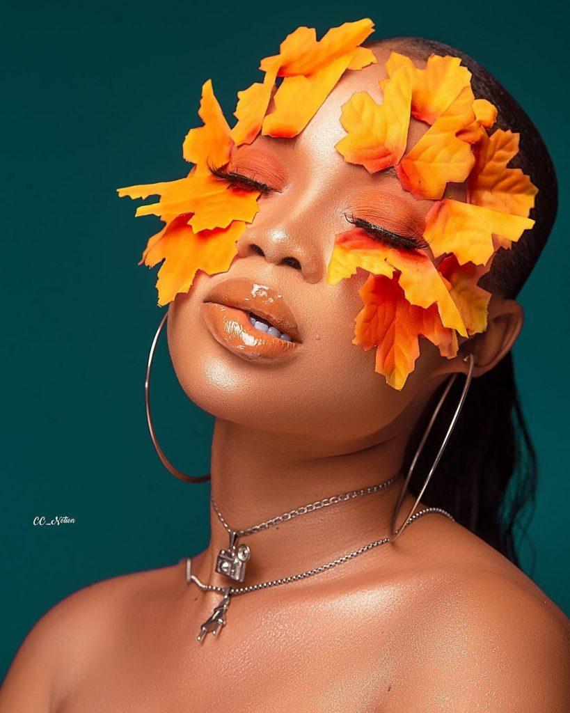 Orange beauty inspo