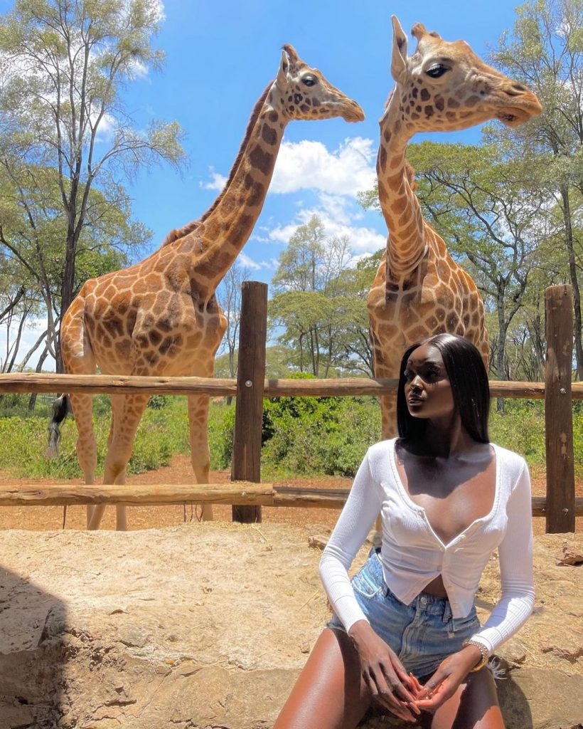 6Not Sure Where Your Next Trip Should Be According to Duckie Thot Kenya Is the Answer