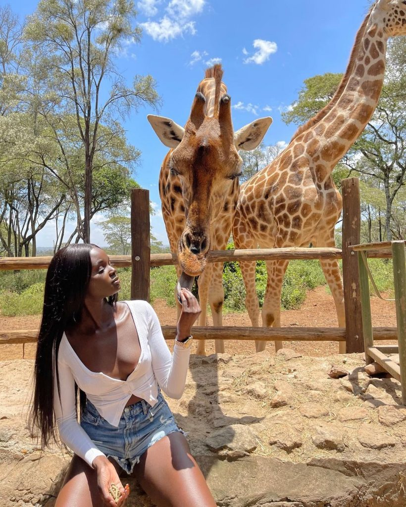 7Not Sure Where Your Next Trip Should Be According to Duckie Thot Kenya Is the Answer