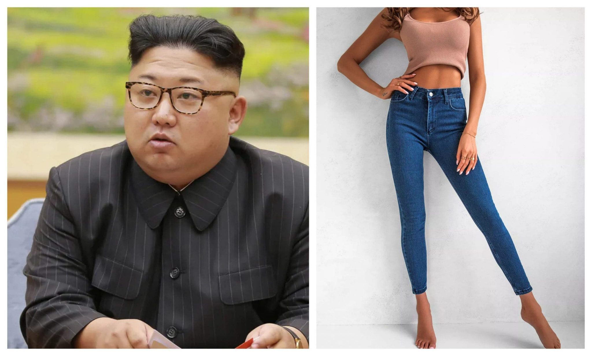 President Kim Jong un bans skinny jeans in North Korea lailasnews 3 scaled 1 scaled